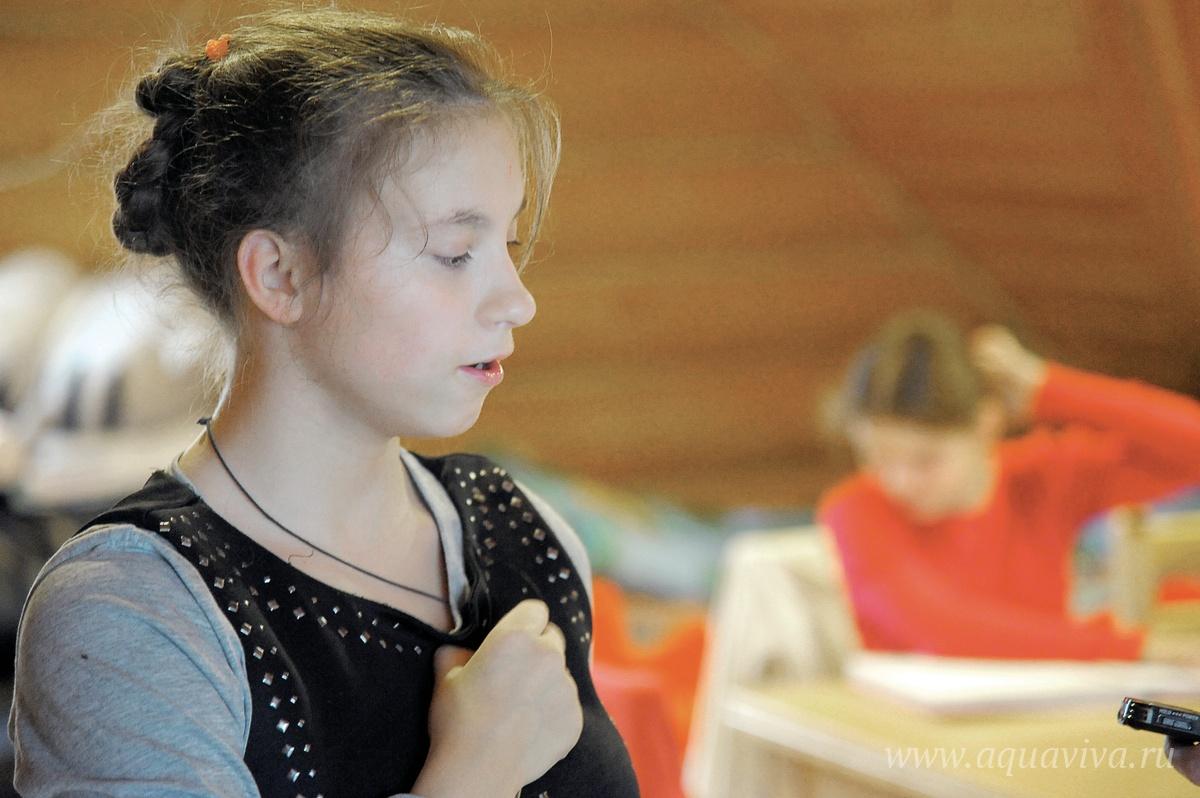 Аня Яковлева мечтает работать в медицине, чтобы помогать людям