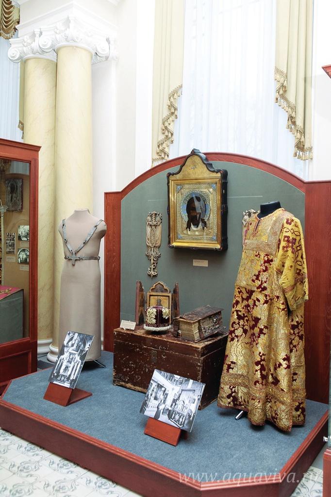 Новый музей для новых древностей. Музейная экспозиция в Александро-Невской лавре