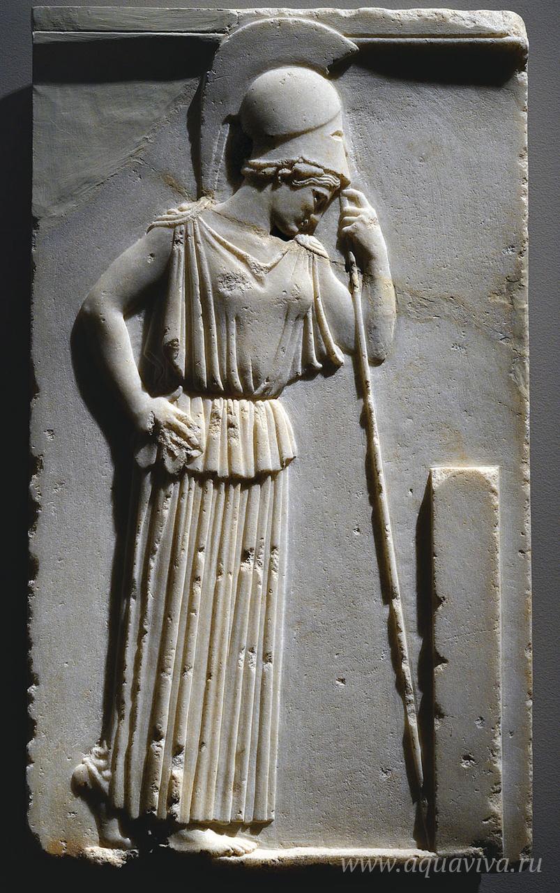 Скорбящая Афина. Южная часть Парфенона. Афины. 470–460 годы до Р. Х.