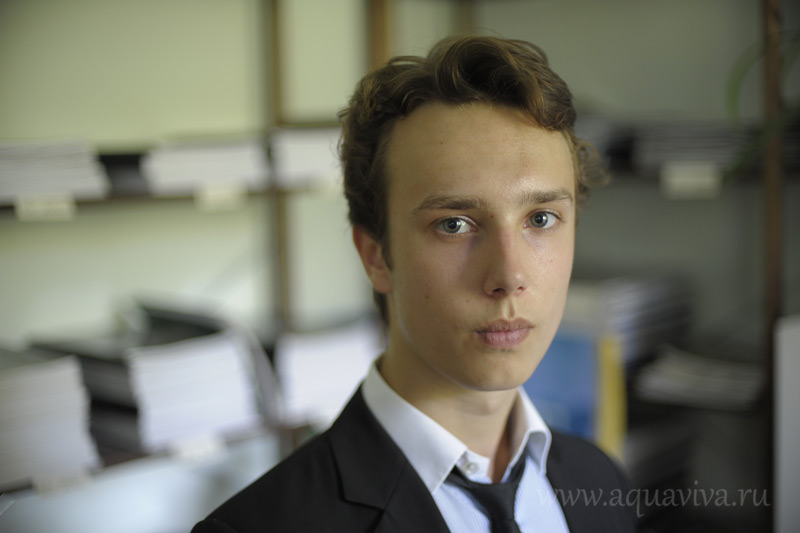 Давид Бобров, выпускник курсов этого года