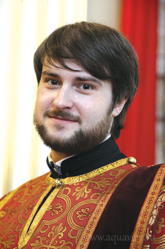 Диакон Сергий Кубышкин, помощник настоятеля