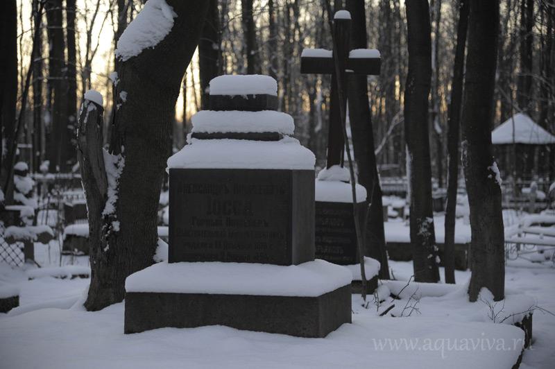 Надгробие на могиле Александра Иоссы вскоре может быть отреставрировано