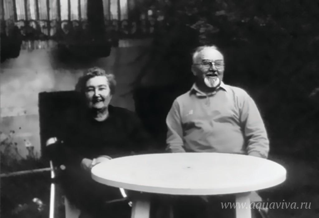 Елена и Евгений Поздеевы, устроители семинара для мирян в местечке Бюсси-ан-От под Парижем