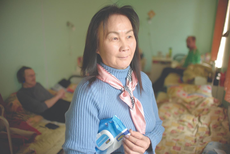 """Центр учета бездомных во главе с директором Баярмой Доржиевой уже не первый год сотрудничают с """"Диаконией"""""""