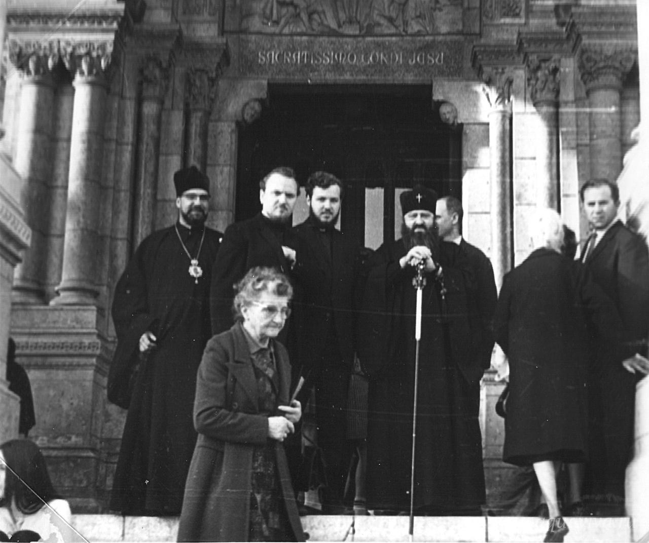 Во время визита в Рим. Декабрь 1970 года
