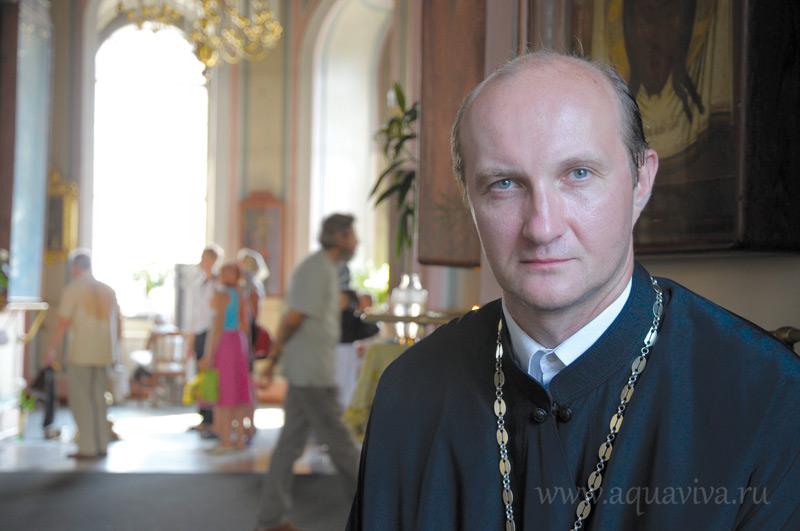 Протоиерей Александр Глебов — кандидат богословия, преподаватель СПбПДА
