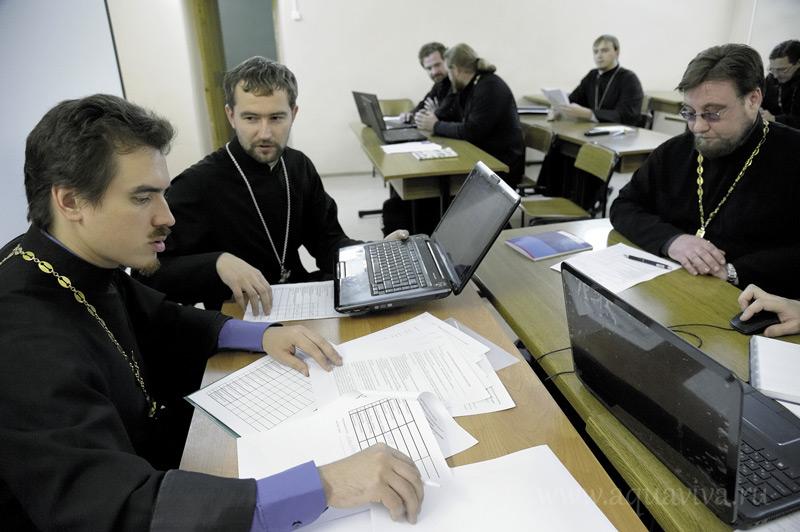 Большинство студентов заочного отделения — уже в священном сане