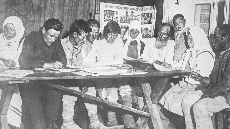 Ликвидация безграмотности в селах. 1930-е годы