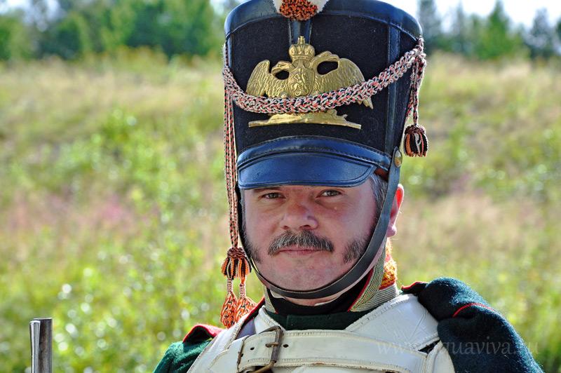 Дмитрий Алексеев не просто реставратор, он еще и «унтер-офицер Преображенского лейб-гвардии полка»