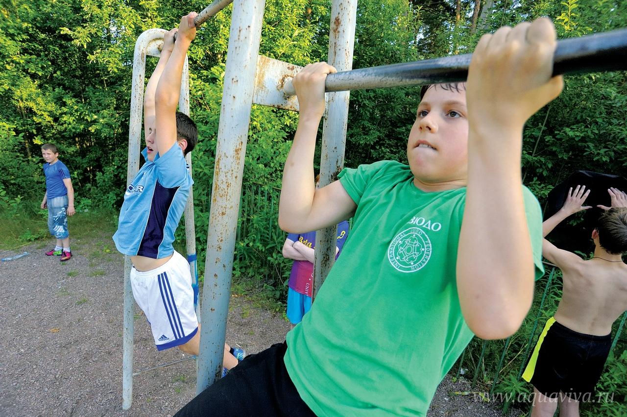 Много внимания в «Ратоборце» уделяют физической подготовке