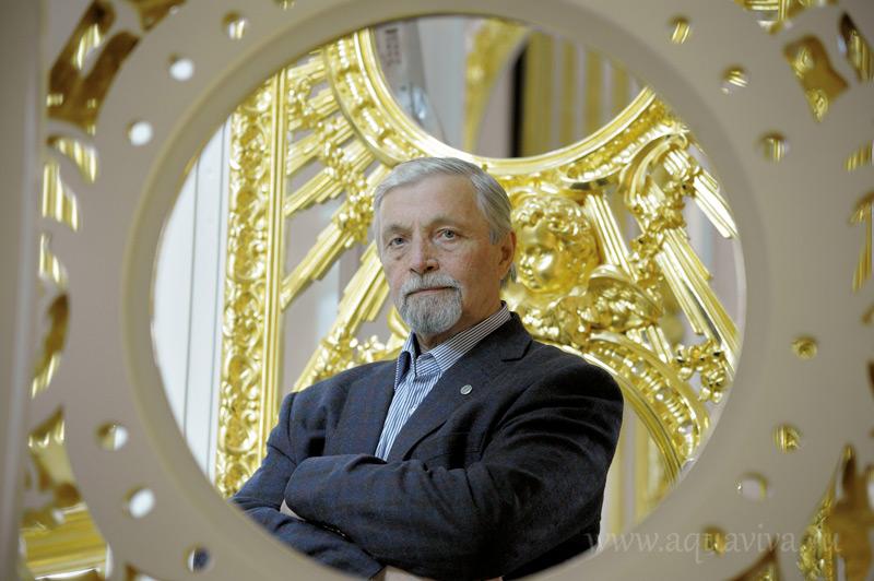 Валерий Лукин, главный архитектор Государственного Эрмитажа