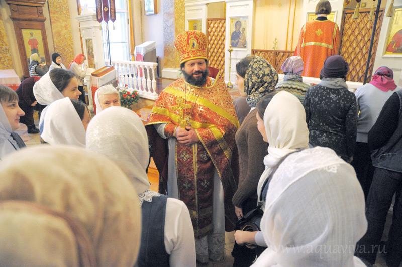 Благодаря храму студенты и преподаватели могут соединить свою духовную и профессиональную жизнь