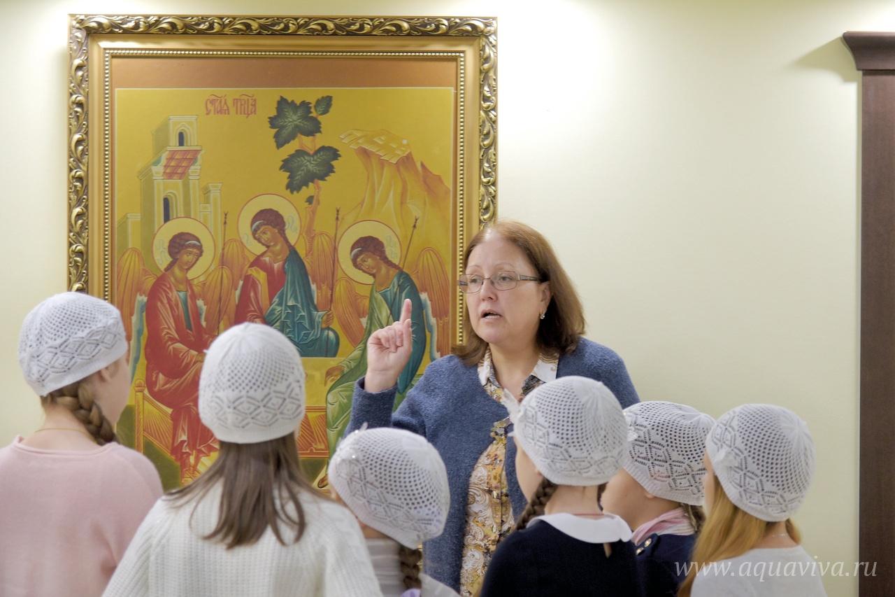 Руководитель воскресной школы Наталья Ямбаева считает, что главное в работе с детьми — уделить внимание каждому
