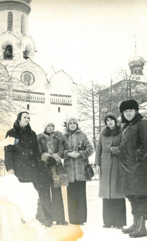 Борис Куприянов (слева) с друзьями и соратниками