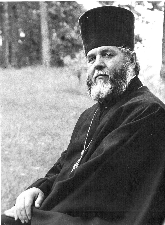 Протоиерей Ипполит Ковальский. 1990-е. Фото Юрия Костыгова