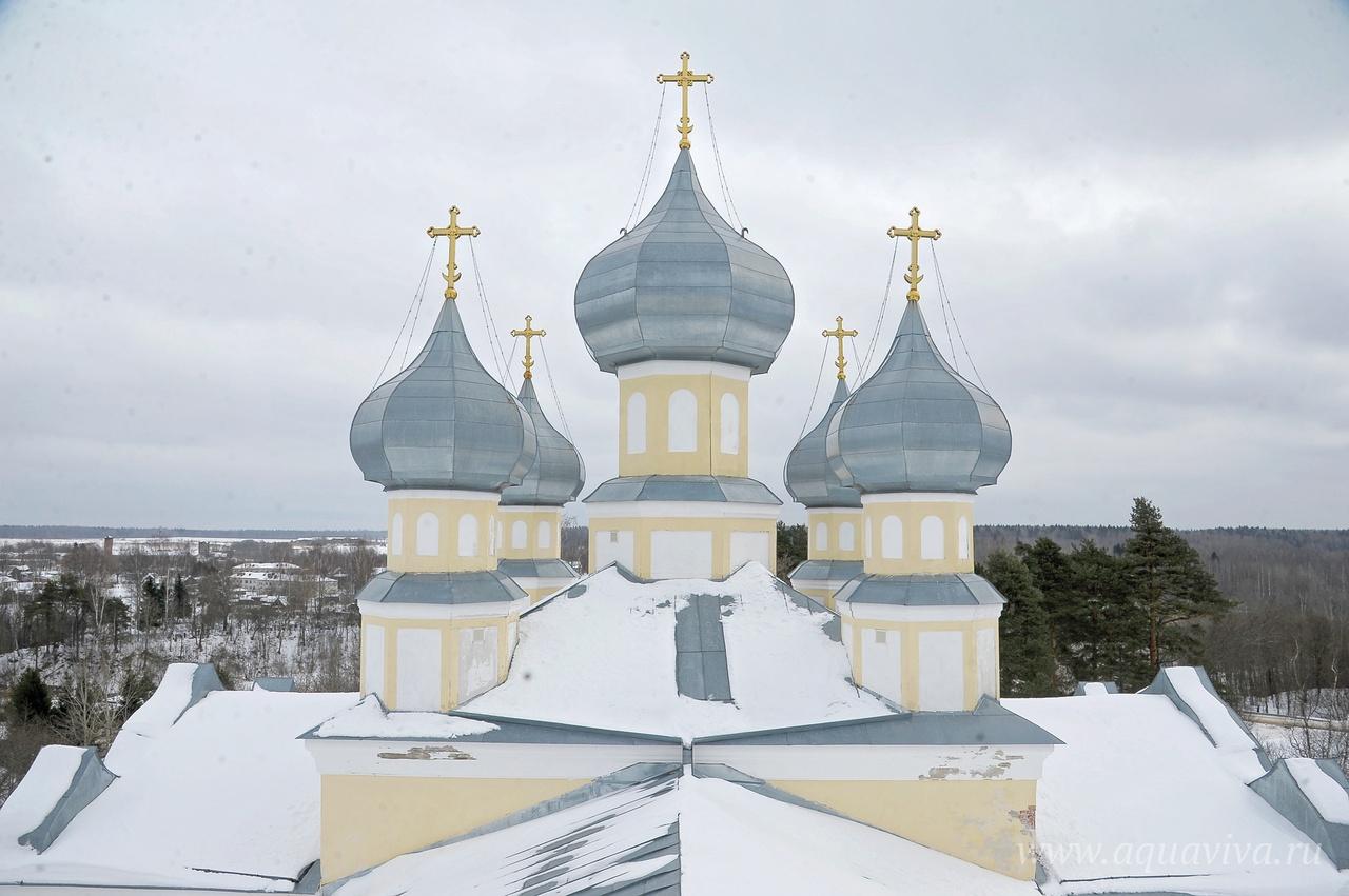 Храм Успения Божией Матери в деревне Лезье впечатляет своим почти столичным великолепием