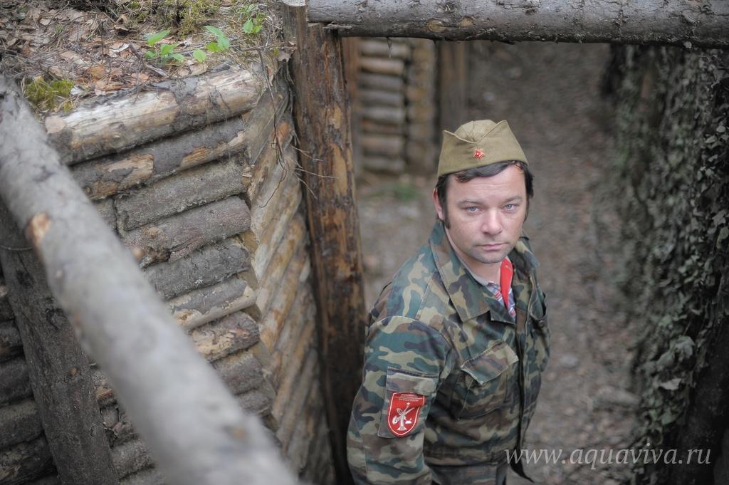 Руководитель поискового отряда «Озёрный» Сергей Загацкий
