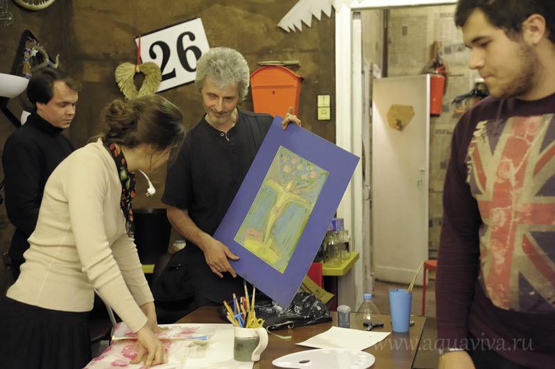 Универсальный язык живописи помогает разглядеть краски жизни