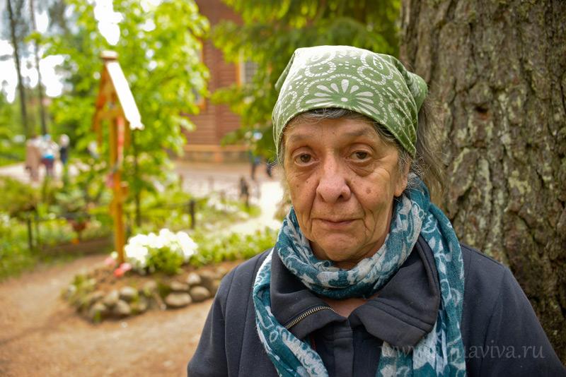 Правнучка старца Серафима Наталья Даниловна