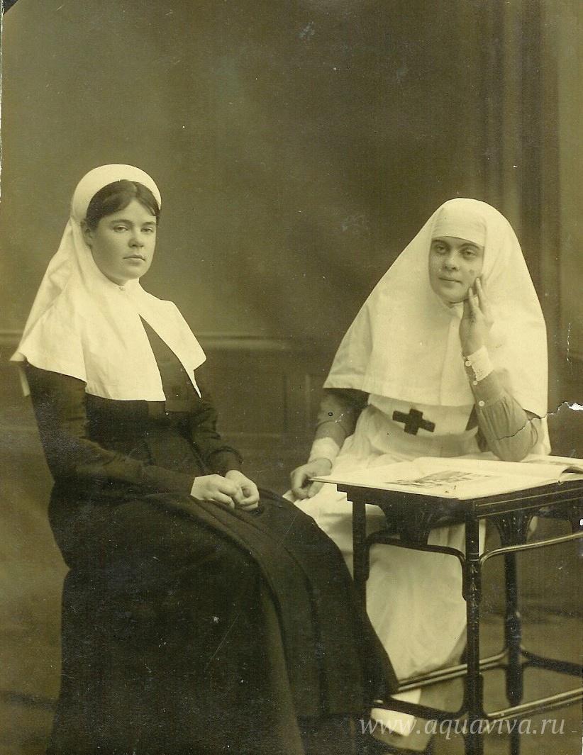 Лида и Вера Орнатские. 1915 од