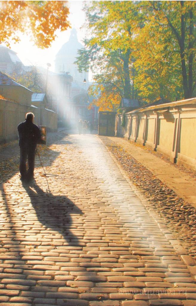 Утро в Лавре