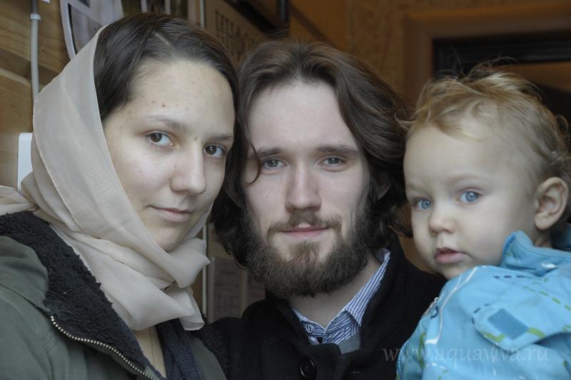 Александр и Полина Андреевы искали наставника в творчестве, а нашли еще и духовного отца