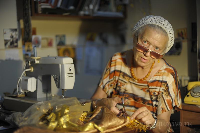 Галина Николаевна Федорова заведует портновской мастерской уже 25 лет