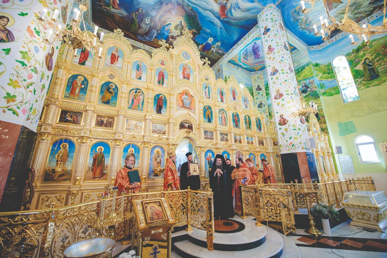 Вторая годовщина освящения храма святого апостола Андрея Первозванного и Всех святых, в земле Русской просиявших. 1 мая 2018 года