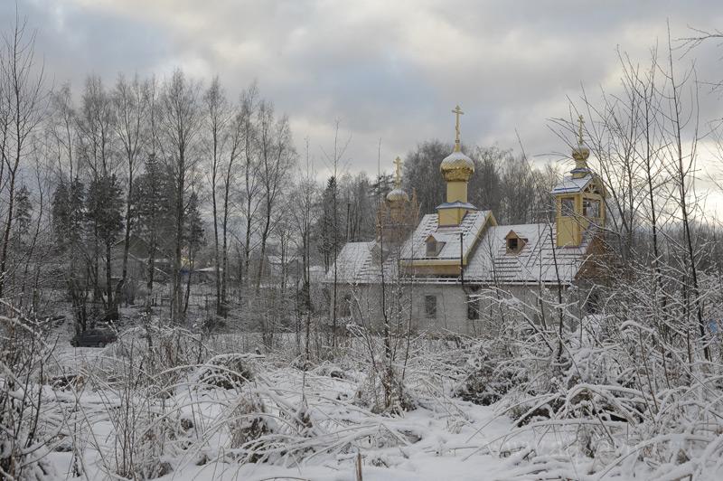 Храм свт. Василия Великого в Осиновой Роще