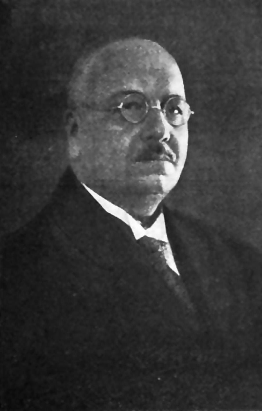 Г.В. Шор (1872‒1948), русский и советский патологоанатом-кондиционалист, танатолог, доктор медицинских наук, профессор, второй заведующий кафедрой патологической анатомии СПбГМУ