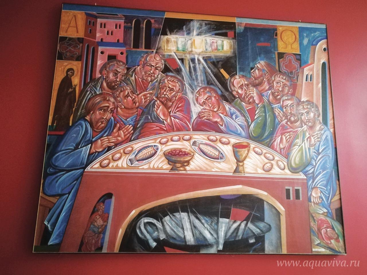 На выставке «Жертва вечерняя» при храме святой Марии Магдалины в Павловске