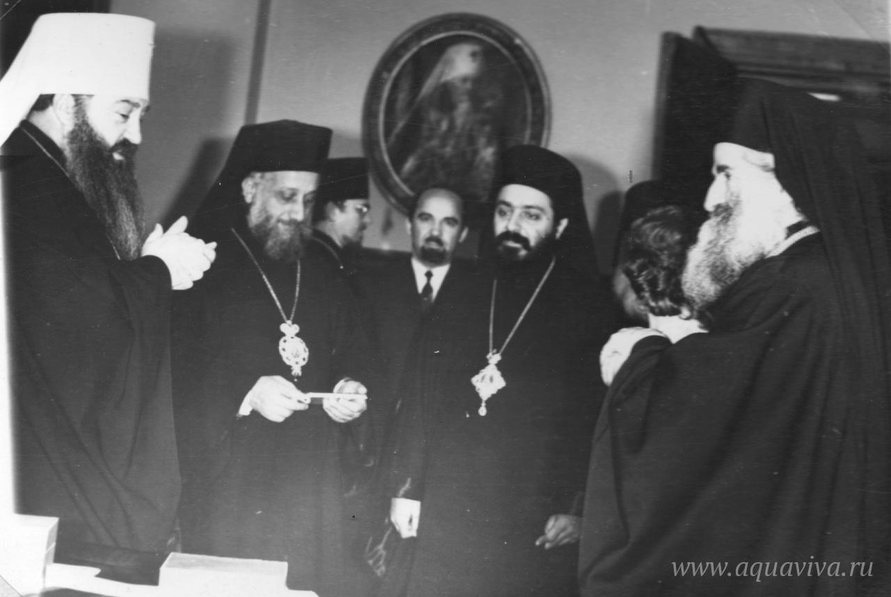 Торжественный вечер в Ленинградской духовной академии. Май 1975 года