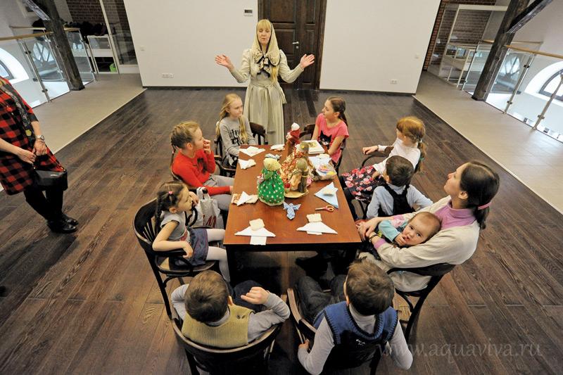 Встреча в музейном клубе для детей