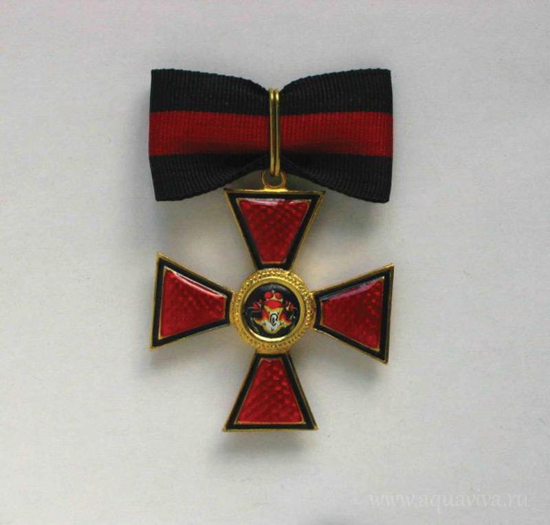 знак на ленте ордена Святого Владимира