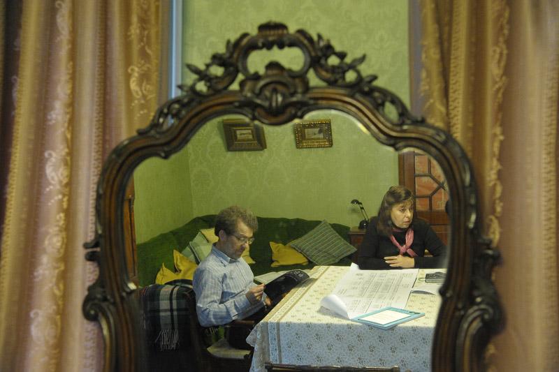 Александр Семёнов Тян-Шанский и его жена Елена Галченко — в зеркале знаменитого предка