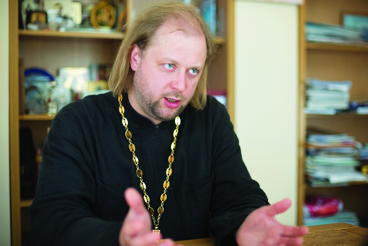 Отец Александр Михеев