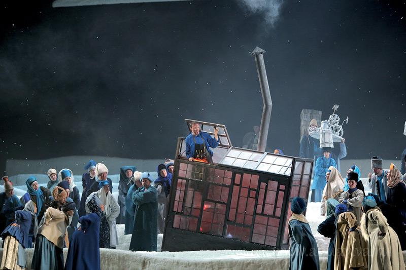 Сцена из оперы «Левша»