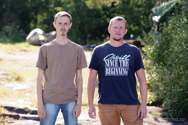 Основатели лагеря Александр Аверьянов и Павел Ильющенко