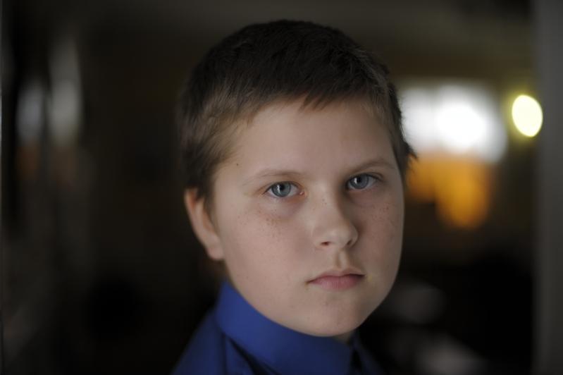 Петр Енюшин, 11 лет