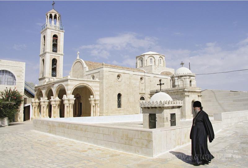 В монастыре Феодосия Великого в Иудейской пустыне