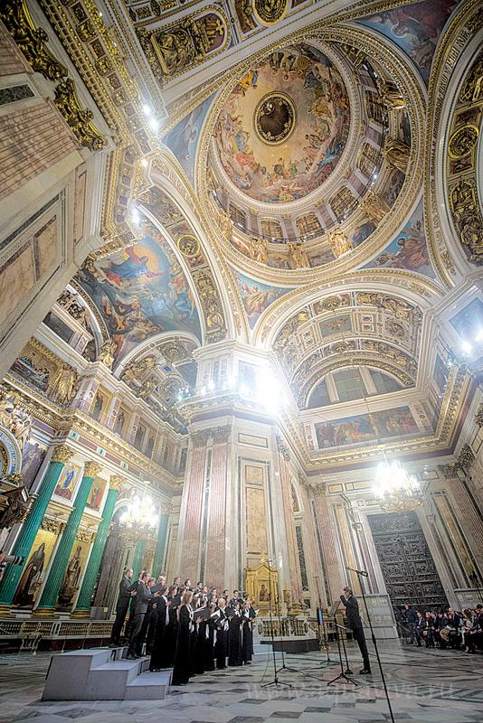 Церковную музыку Рождества можно будет услышать на концертах в Исаакиевском соборе