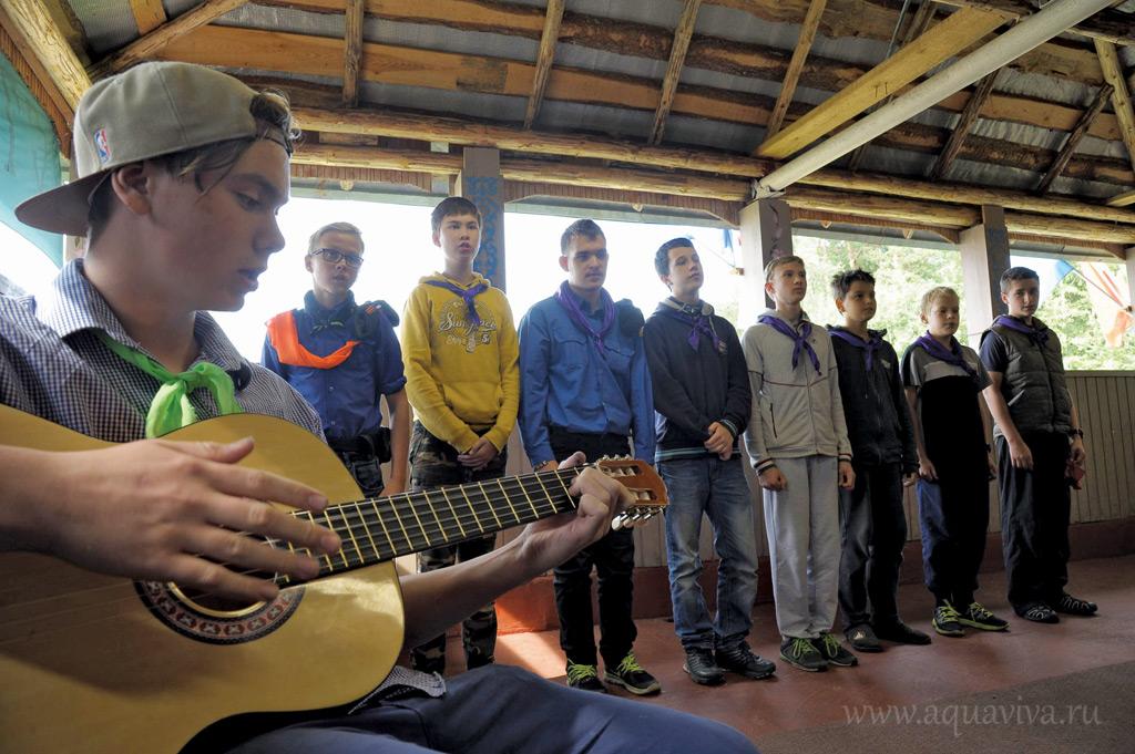 В завершение смены — традиционный концерт для родителей