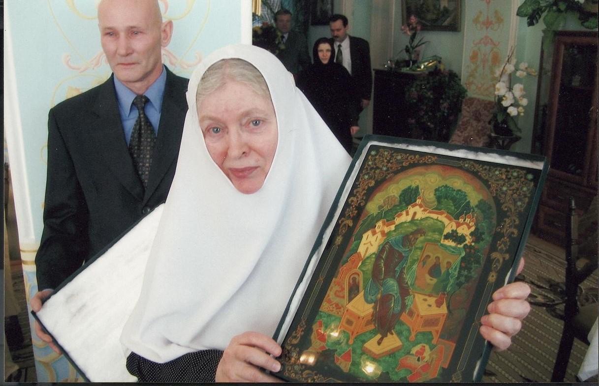 В юбилейные даты монахини Анастасии в обители на общий праздник собирались сестры и коллеги-врачи