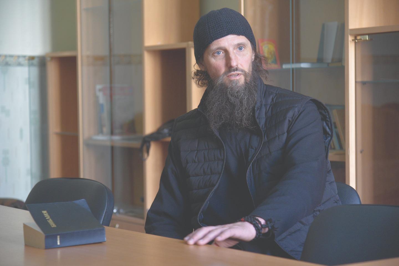 Монах Антипа живет в лавре уже 15 лет