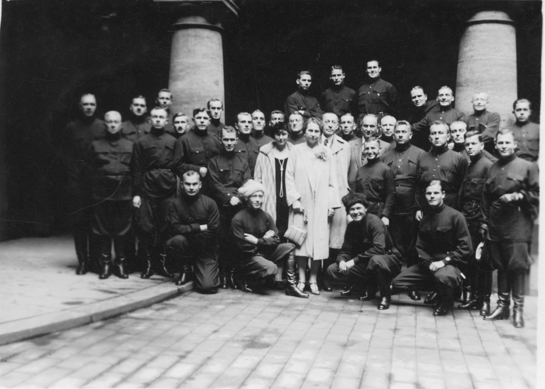 С С. Рахманиновым. Дрезден. 1927 год