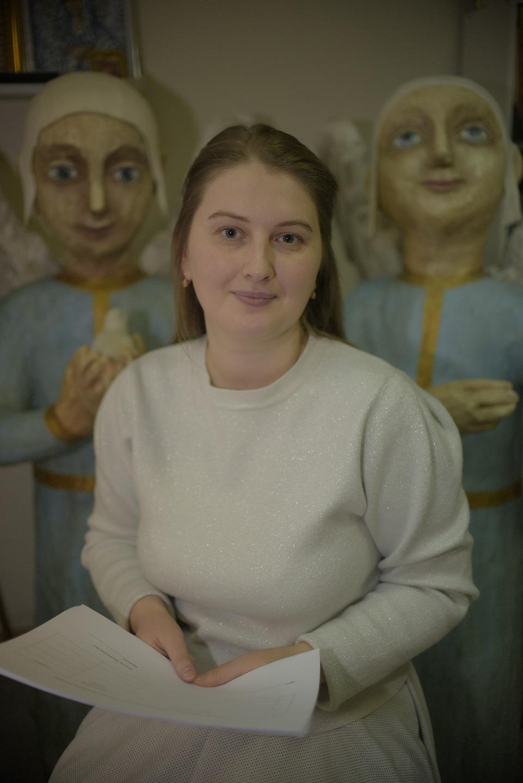 Руководитель инклюзивных мастерских Надежда Арзамасцева