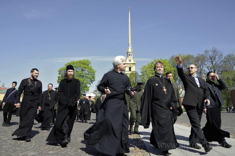 Учебно-методические сборы штатного военного духовенства в Санкт-Петербурге. Май 2012 года