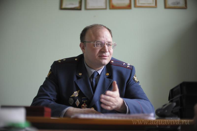 Полковник Владимир Самарин, заведующий кафедрой организации и воспитательной работы