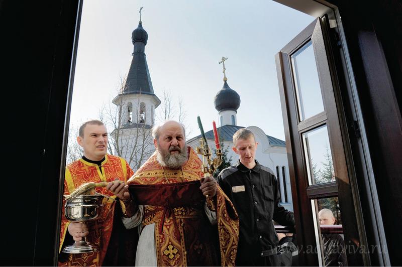 Протоиерей Владимир Сорокин одним из первых в Петербурге начал окормлять заключенных.