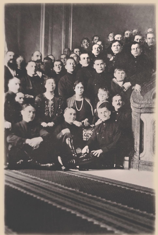 В Дании с великими княгинями Ксенией и Ольгой Александровнами. 1925 год